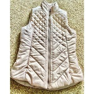 Mondetta women XS light pink puff vest